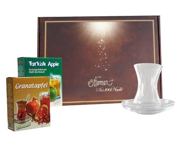 Geschenkboxen turkis